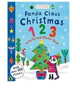 Panda Claus and Christmas 123 Activity and Sticker book / Wydawnictwo Bloomsbury