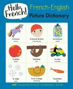 French - English picture dictionary / Wydawnictwo b small