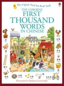 First thousand words in Chinese / Wydawnictwo Usborne