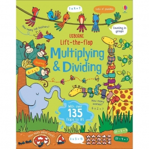 Lift-the-flap multiplying and dividing / Wydawnictwo Usborne
