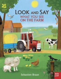 Look and Say What You See on the Farm / Wydawnictwo Nosy Crow